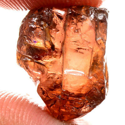 BEAUTIFUL 26.25ct 100%NATURAL UNHEATED BROWN ZIRCON ROUGH FACET NR!