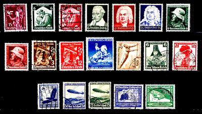 Germany: 1930's To 40's Classic Era Stamp Collection All Sound