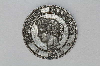 France - 5 centimes 1877 A (#29)