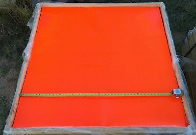 (75) 3M Reflective Sign Reflector Tape 3924 Diamond Grade Large  Sheets 4ft x 4'