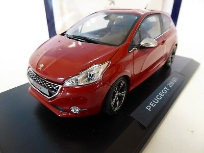 1/18 Peugeot 208 GTI rouge 2013 - Norev voiture diecast model car 184701