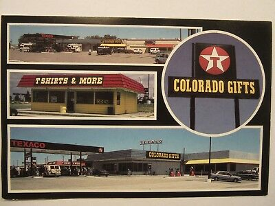 TEXACO SERVICE CENTER, WENDY'S Restaurant, I-70 Limon, Colorado