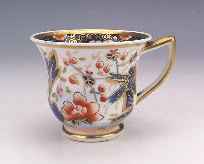 Antique Spode Porcelain - Japanese Inspired Imari Cup - Lovely!