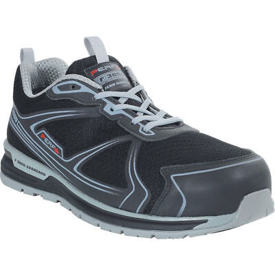 Performance PB220 Gravity Five Safety Toecap Black Grey Trainer - Various Sizes