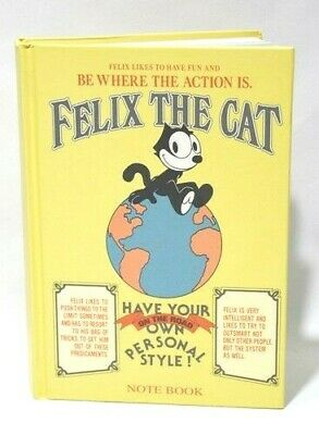FELIX THE CAT on the world chat note book carnet neuf