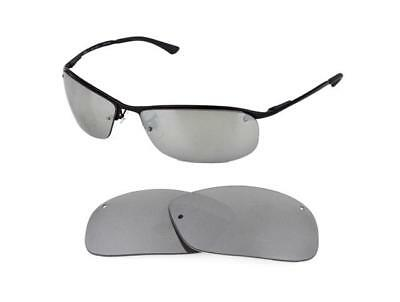 b70969b0e910ca NEW POLARIZED REPLACEMENT SILVER ICE LENS FIT RAY BAN RB3183 63mm SUNGLASSES