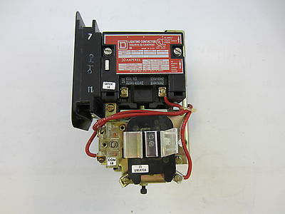 Square D 8903-Smo12 Lighting Contactor 4 Pole 30 Amp 120V Coil Latched