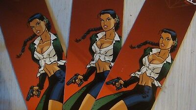Lot de 3 grands marque page BD Meynet Pin up Eternels