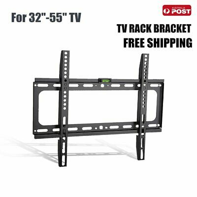 "Universal 32-55"" inch 60kg LCD Plasma TV LED Slim Tilt Wall Mount Bracket"