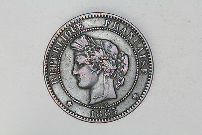 France - 10 centimes 1883 A (#74)