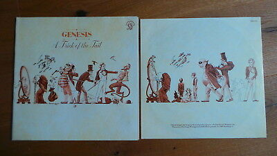 GENESIS - A Trick Of The Tail (D 1975 Charisma Insert BIG MAD HATTER FoC)