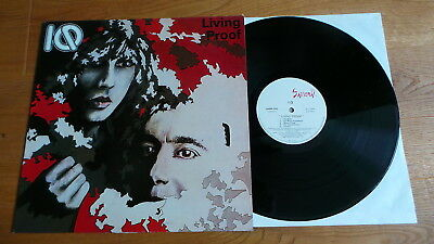 IQ - Living Proof (F 1985 Samurai Rec. LP ) PROG ROCK as unplayed!