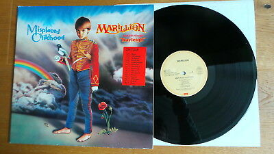 MARILLION - Misplaced Childhood (D 1985 EMI Rec. FoC + TOURSTICKER) RAR