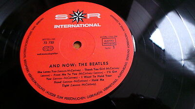 THE BEATLES - And Now (D 1966 S*R Int. 73735 Stereo AUSTRO MECHANA/GEMA Label!