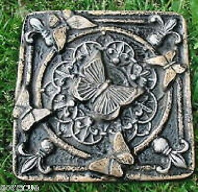 Abs plastic butterfly stepping stone plaster concrete mold