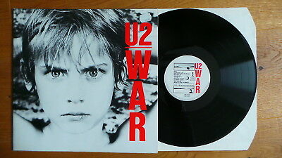 U2 - War (D 1983 Island 205 259 FoC ) TOP CONDITION - BONO