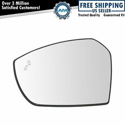Mirror Glass Blind Spot Indicator Heated Passenger Side Right RH for Ford Escape