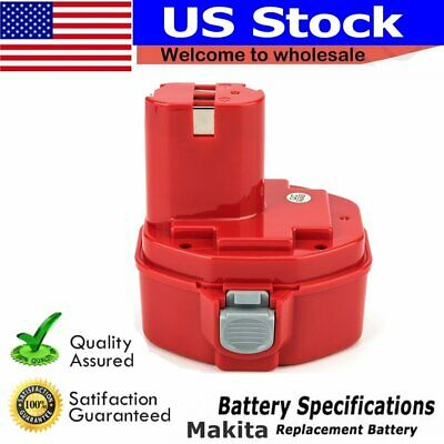 14.4V 3.0AH Battery for MAKITA 1420 1422 192600-1 193985-8 6281D 8433D Drill
