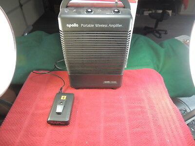 Apollo Portable Cordless PA System with Wireless Microphone Transmitter PA-5000