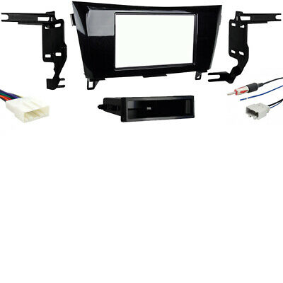 Car Radio Stereo Single Double Din Install Dash Kit for 2007-2008 Honda Fit