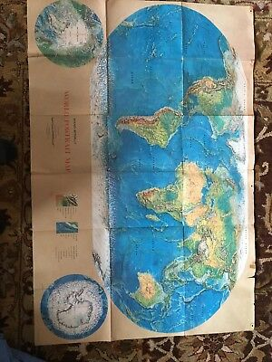 Rand McNally World Portrait Map
