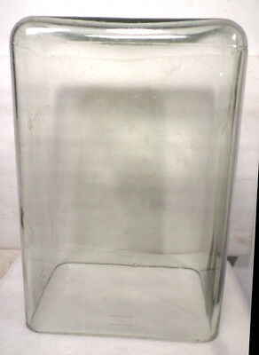Rectangular Glass Dome For Antique French Clock Or Other Antique/Collectable