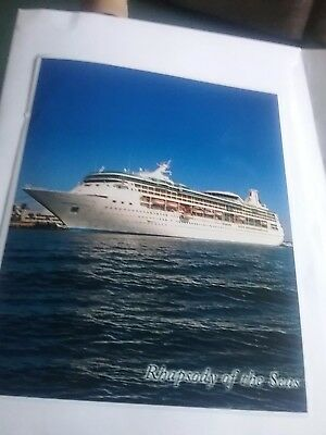 "Royal Caribbean Rhapsody Of The Seas Photograph 8"" X 10"" Original Small Border"