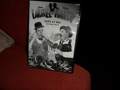 laurel and hardy - saps at sea+shorts ( dvd ) black and white and colour version