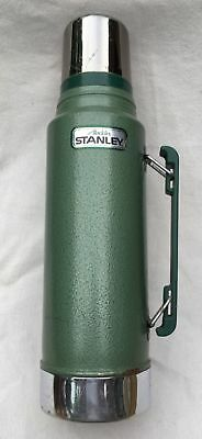 Vintage Alladin Stanley Quart Steel #A-944DH Thermos with Handle