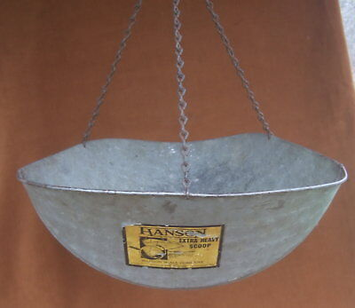 Antique Hanson Hanging Scale Scoop Only