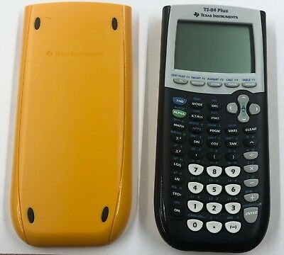 Texas Instrument TI-84 Plus Calculator With Cover Tested Working Mint Condition