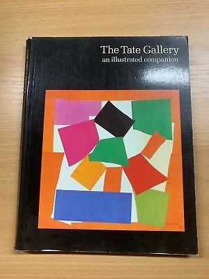 "1985 ""the Tate Gallery"" Illustrated Companion To British & Foreign Art Book"
