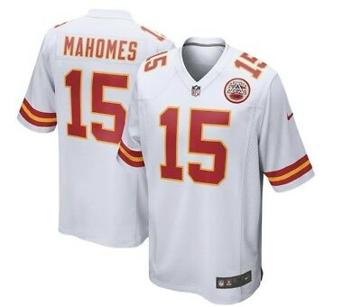 *NEW With Tags* PATRICK MAHOMES KANSAS CITY CHIEFS Men White Nike Large Jersey