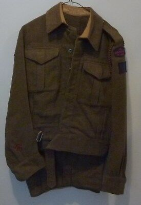 Very Nice RRC WWII Canadian BD Complete With Pants