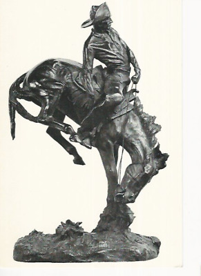 """""""the Outlaw"""" By Frederic Remington 1906 Exhibition Rockwell Corning Museum Ny"""
