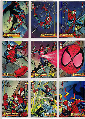 1994 Marvel Fleer Ultra Spider-Man Complete 150 Card Base Set Nm