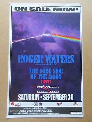 Roger Waters The Dark Side Of The Moon Poster Serember 30, 2006 Pink Floyd