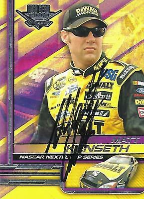 MATT KENSETH - Hand Signed Autographed  2006 Wheels High Gear  Card #7
