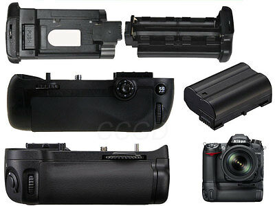 Vertical Multi-power hand Grip for Nikon D7100 +Decode EN-EL15 batetry as MB-D15