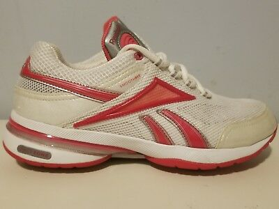 REEBOK Easytone White Pearl Pink Walking Toning Athletic Shoes Women s 7.5 c7e629a0f