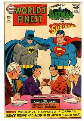 World's Finest #172 (1967) VG/F New DC Silver Age Collection