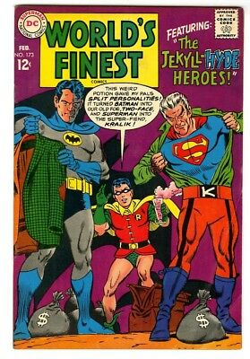 World's Finest #173 (1968) VG/F New DC Silver Age Collection