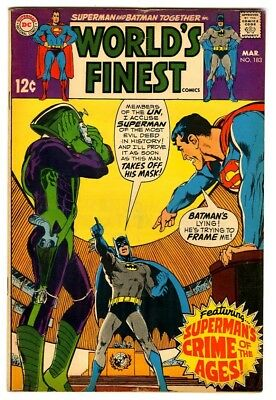 World's Finest #183 (1969) VG/F New DC Silver Age Collection