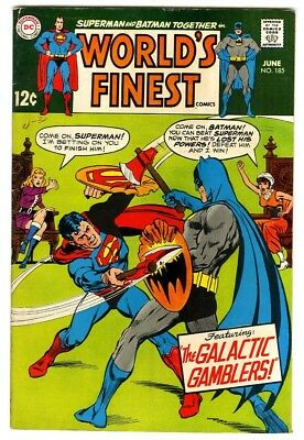 World's Finest #185 (1969) Fine New DC Silver Age Collection
