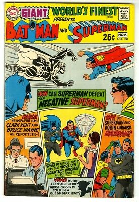 World's Finest #188 (1969) Fine+ New DC Silver Age Collection Giant Size