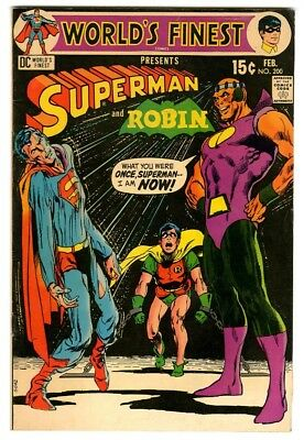 World's Finest #200 (1971) Fine New DC Silver Age Collection