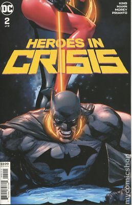 Heroes in Crisis (DC) #2A 2018 Mann Variant VF Stock Image