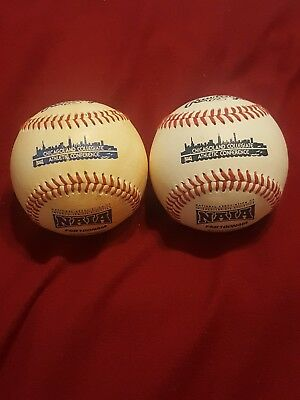 2 Rawlings College Baseballs NAIA Chicago Collegiate Athletic Conference