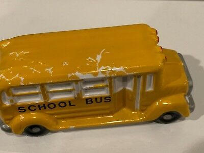 Dept 56 Vintage School Bus!