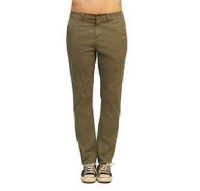 """Articles of Society Relaxed Fit Trouser Pants size 24 in Olive """"Twiggy"""" NEW!!!"""